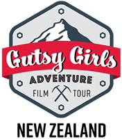 GUTSY GIRL ADVENTURE FILM TOUR NEW ZEALAND Logo