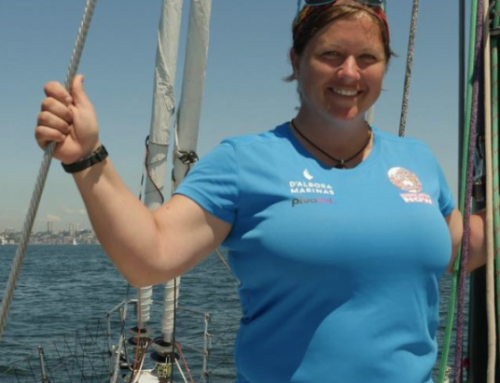 LISA BLAIR: THE WOMAN BEHIND THE MAST