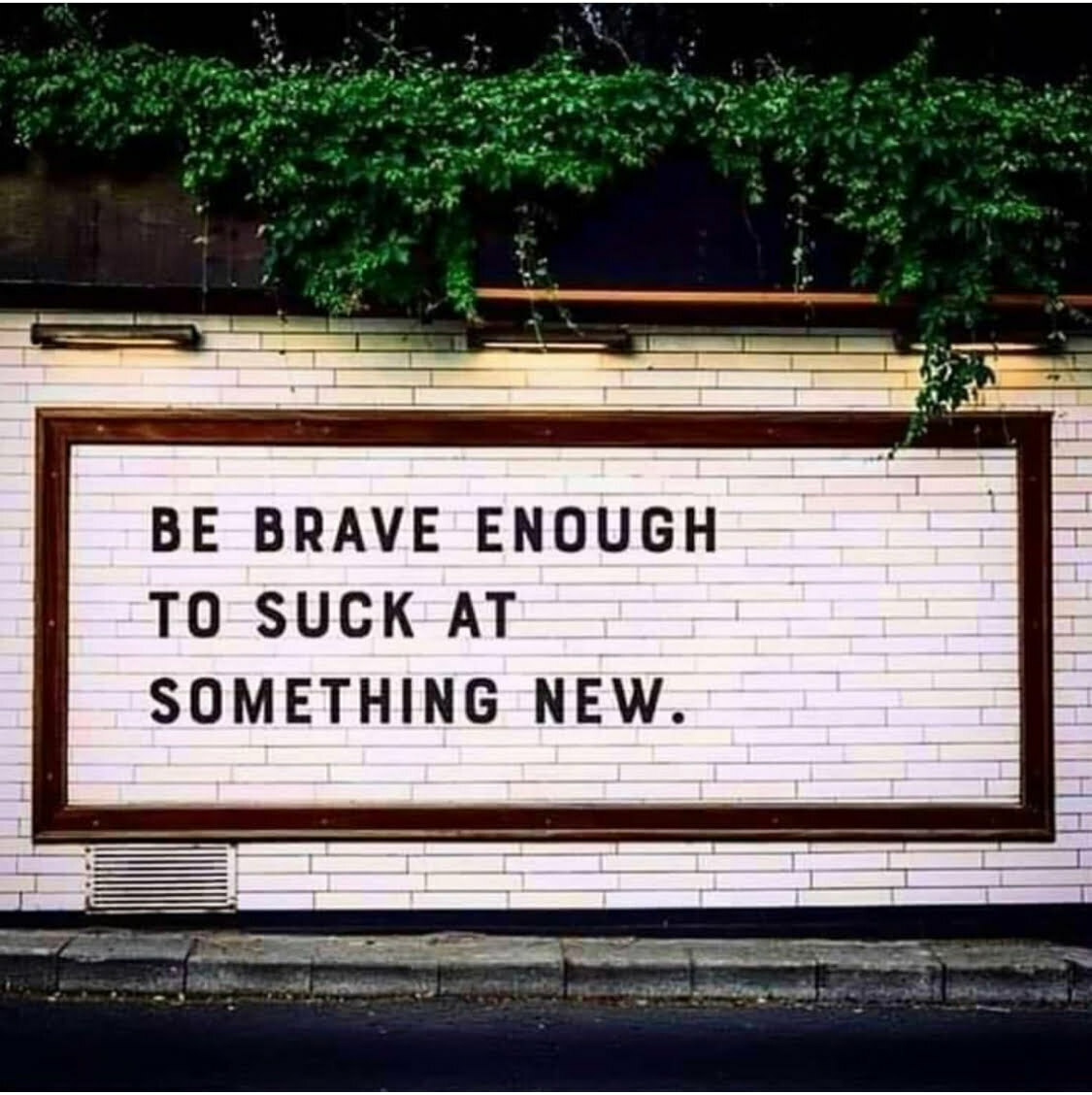 Be brave enough to try something new this summer